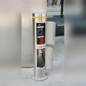 Kent's stainless steel Power Bollard