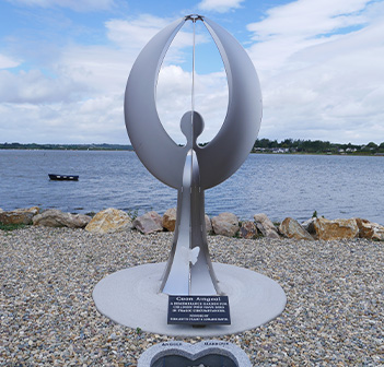 Cuan Aingeal Sculpture in County Wexford