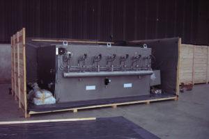 Industrial air handling unit by Kent